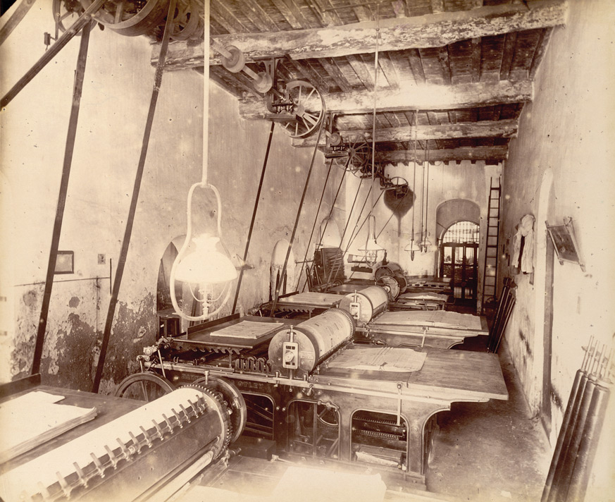 Machine room No. 2 ['Times of India'], - November 1898.